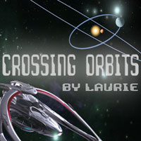 Crossing Orbits - Laurie and Virginia Sky
